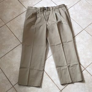 Men's khakis tan pants 38x29